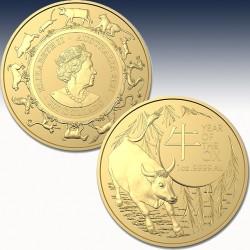 1 x 1 oz Gold 100$ Australien RAM...