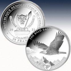 1 x 1 oz Silbermünze 20 Franc...