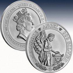1 x 1 Oz Silbermünze £1 St. Helena...