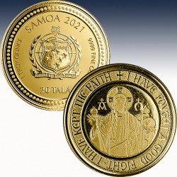 "1 x 1 oz Gold 20$ Tala Samoa ""The..."