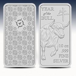 1 x 10 oz Silberbarren Provident...