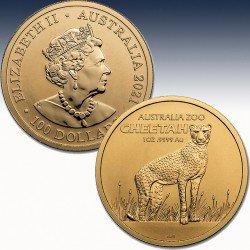 1 x 1 oz Goldmünze $100 Royal...