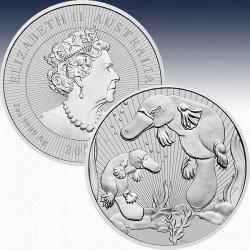 1 x 2 oz Silbermünze 2$ Australien...
