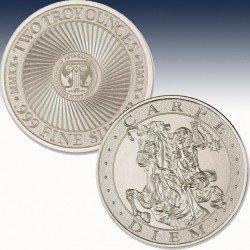 1 x 2 oz Silverround Inaglio Mint...