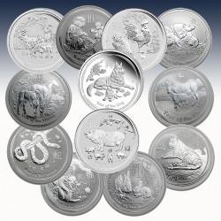 1 x 12 x 2 Oz Silber 24$ Australien...