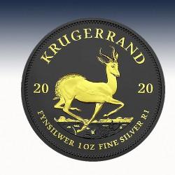 1 x 1 oz Silber 1 Rand Südafrika...