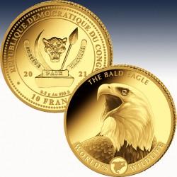 1 x 0,5 gramm Goldmünze 10 Fr...
