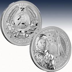 1 x 1 Oz Silber 5 Mark Germania Mint...