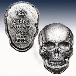 1 x 2 oz Silver Bar Hand Poured...
