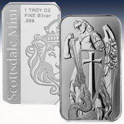 1 x 1 oz Silverbar Scottsdale Mint...