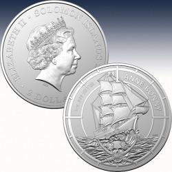 1 x 1 oz Silbermünze 2$ Australien...