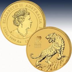 1 x 1/10 Oz Gold 15$ Australien...