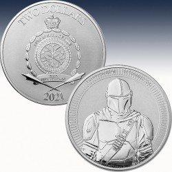 """1 x 1 Unze Silbermünze 2$ Niue """"Star..."""