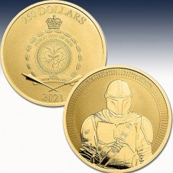 "1 x 1 oz Silbermünze 250$ Niue ""Star..."