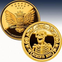 1 x 1 Oz Silverround Anonymous Mint...