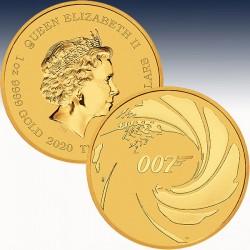 1 x 1 Oz Goldmünze 100$ Perth Mint...