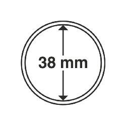1 x Münzkapsel Silber Maple Leaf 38mm...