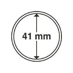 """1 x Münzkapsel """"Silber"""" Libertad 41mm..."""