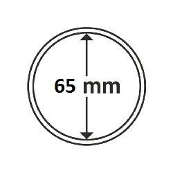1 x 5 oz Münzkapsel 65 mm