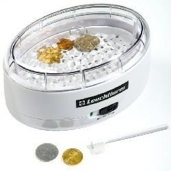 1 x 1 Vibrationsreiniger für Münzen