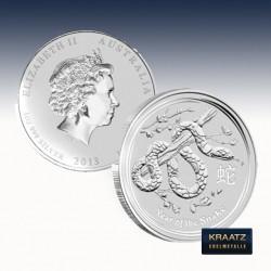 1 x 1/2 Oz Silber Lunar II Jahr der...