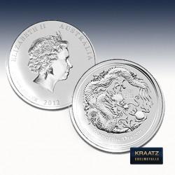 1 x 1/2 Oz Silber Lunar II Jahr des...
