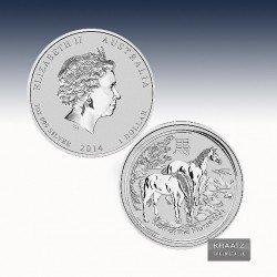 """1 x 1 Oz Silber 1$ Australien """"Lunar..."""