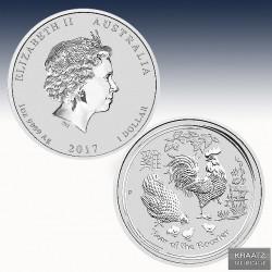1 x 1 oz Silber 1$ Australien Lunar...