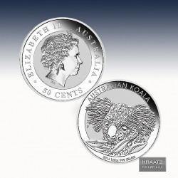 1 x 1/2 Oz Silber 0,50$ Australien...