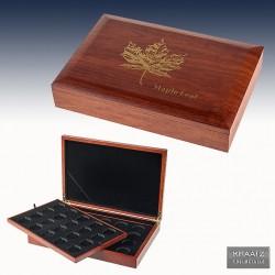 """1 x 1 Münzbox Silbermünzen """"Maple..."""