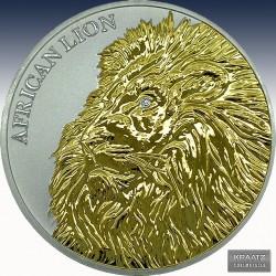 1 x 1 Oz Silbermünze 5.000 France...