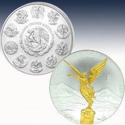 "1 x 1 oz Silbermünze Mexico ""Libertad..."