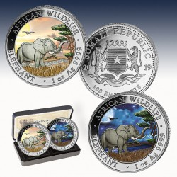 2 x 1 Oz Silber 200 SH Somalia...