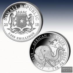 "1 x 1 Kg Silbermünze 2000 SH ""Somalia..."