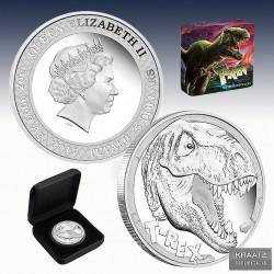 1 x 5 oz Silber 5$ Tuvalu...