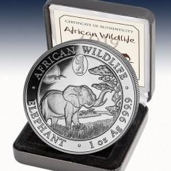 "1 x 1 oz Silbermünze 100 SH ""African..."