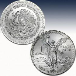 """1 x 1 oz Silber Mexico """"Libertad..."""