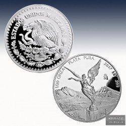 1 x 1/20 Oz Silber Mexico Libertad...
