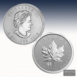 "1 x 1 Oz Silber Maple Leaf ""Clover..."